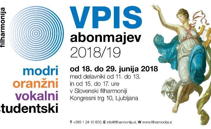 Slovenska filharmonija – ugodna ponudba Vokalnega abonmaja